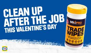 Clean up after the job this Valentine's Day