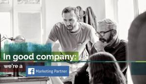 In good company: we're a Facebook Marketing Partner